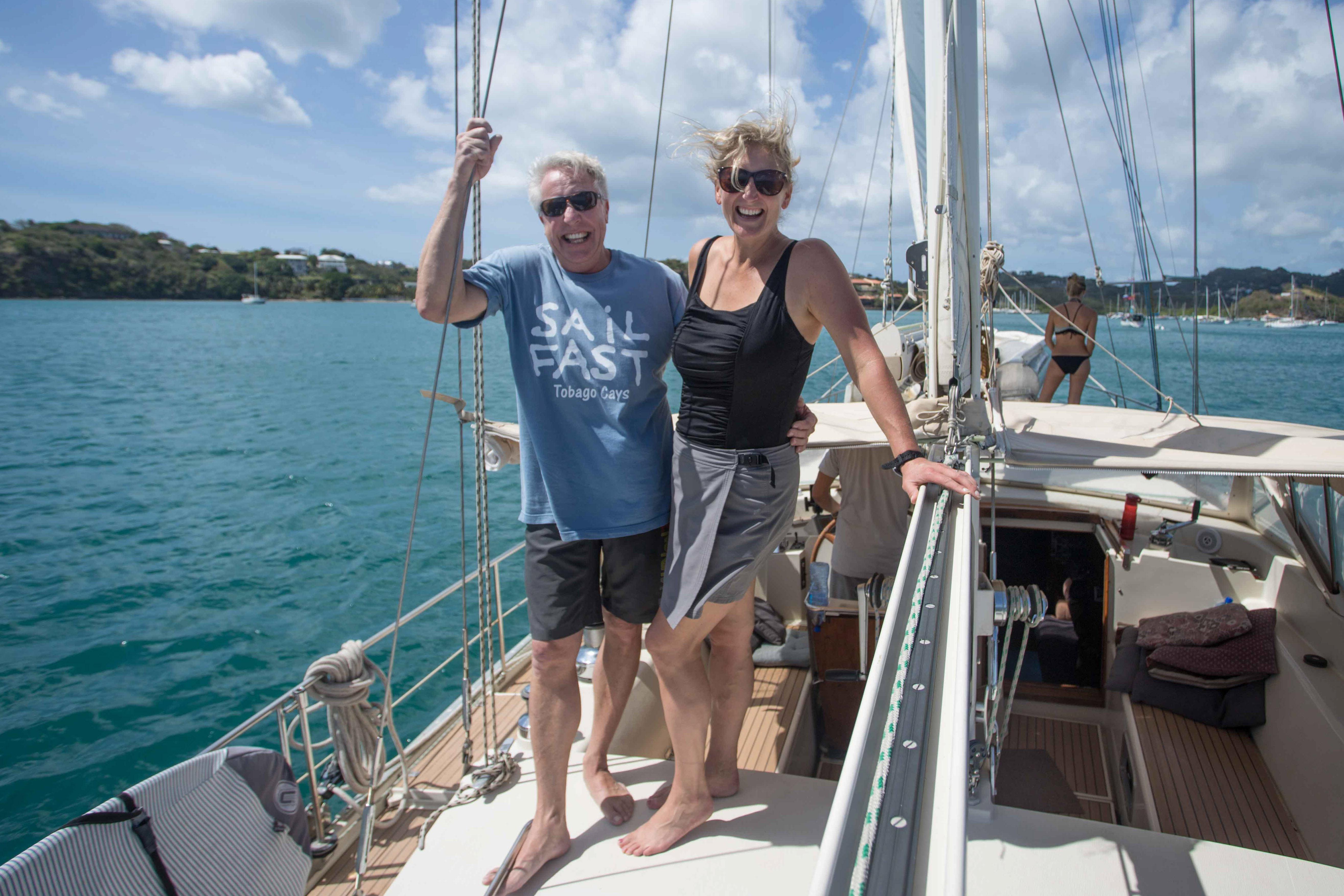 Nana Mos Excellent Adventure on Delos - By Maureen - SV Delos