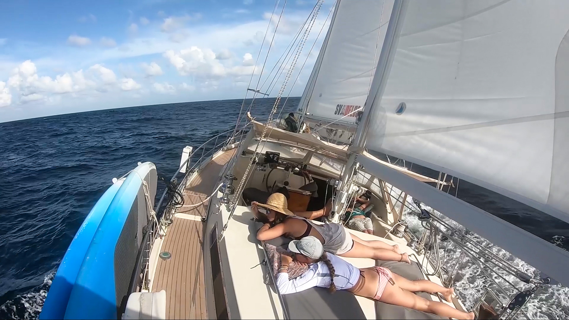 The crew is going INSANE by their passage at SEA